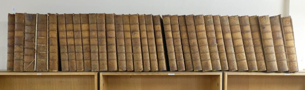 Journals of House of Commons, 32 volumes, 1742-67