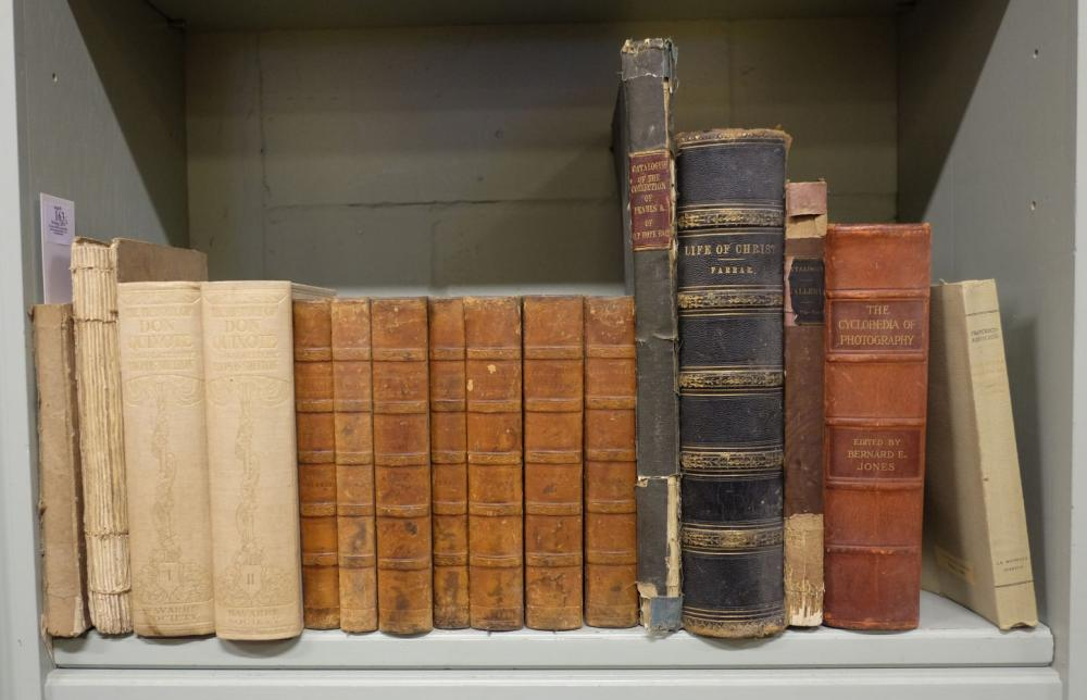 """Book auction catalogue. """"The Thomas Bell Library"""", 1st edition, 1860 & others"""