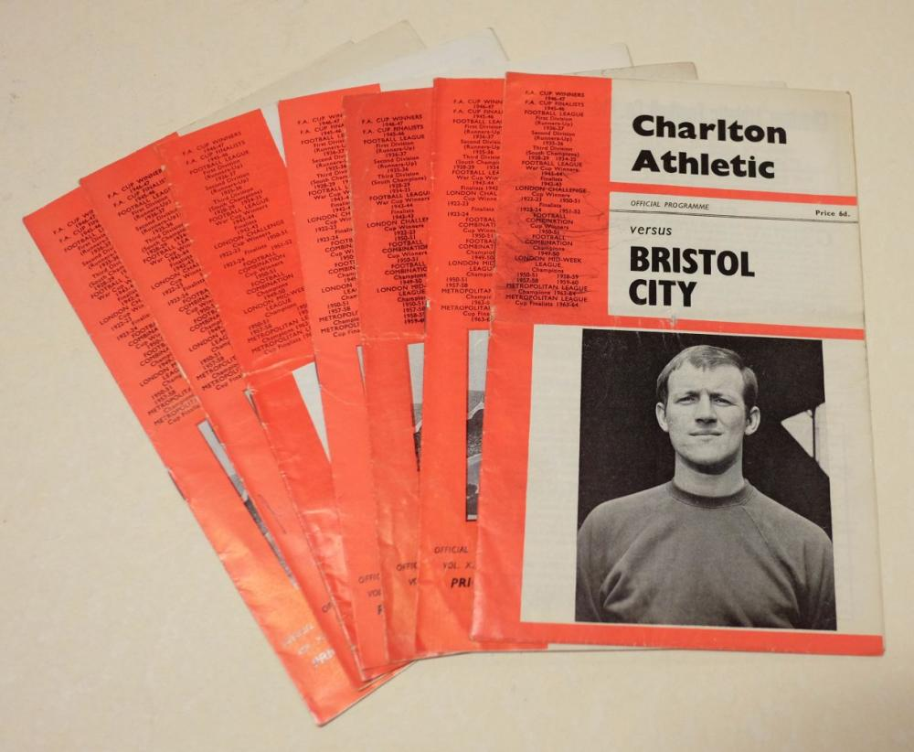 Football programmes. A collection 1950's-2000's, approx. 150