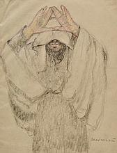 *Madrassi (Ludovic Lucien, 1881-1956). A collection of sixteen original studies in the Pale of Settlement, circa 1924,