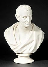 *Duke of Wellington. A Victorian parian bust by E.W. Wyon for Wedgwood,