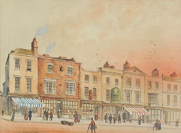 * Braddon (Paul, 1864-1938). Bull Street from the