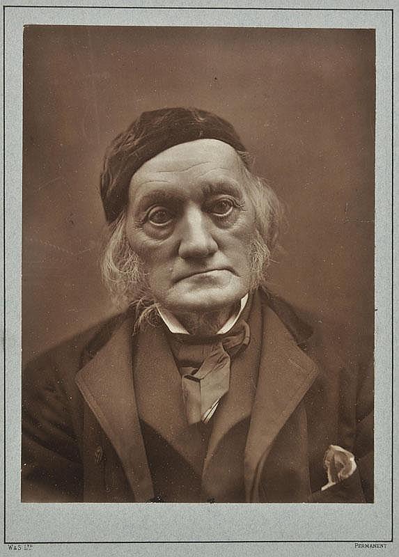 *Owen (Richard, 1804-92). A Woodburytype print [by
