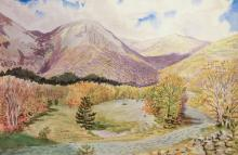 * Cleaver (James). Four Watercolours of Alpine Scenes, late 20th century