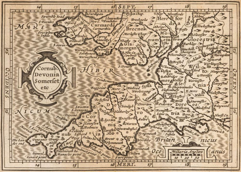 Camden (William). Collection of maps.