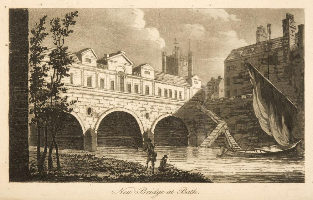 Robertson (A.). A Topographical Survey of the Great Road from London to ... Bristol, 2 vols., 1792