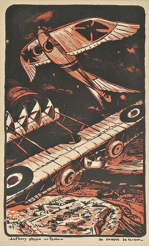 *Busset (Maurice, 1879-1936). 'Bombardament