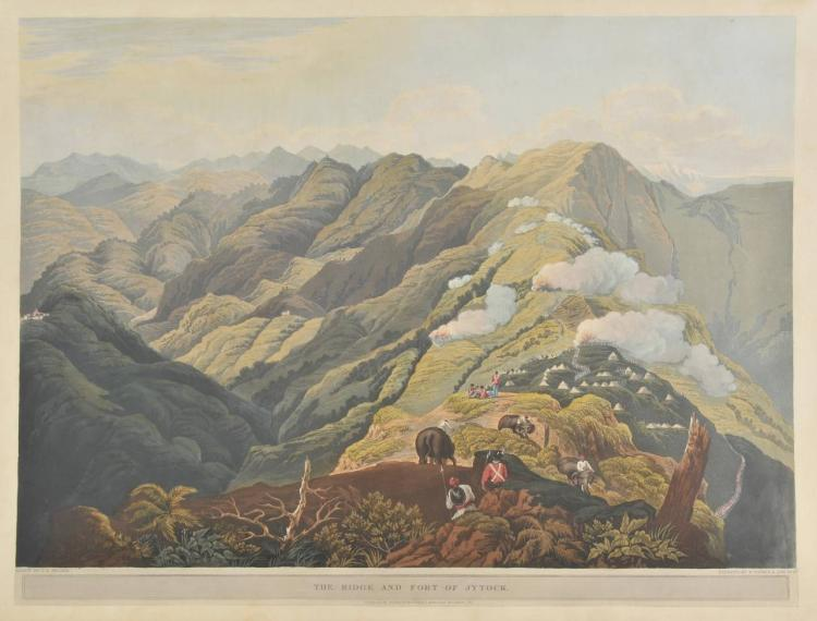 Fraser (James Baillie). Views in the Himala Mountains, Rodwell & Martin, 1820,