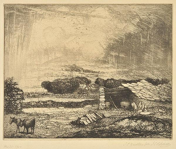 Robinson (John Charles, 1824-1913). Rainswept