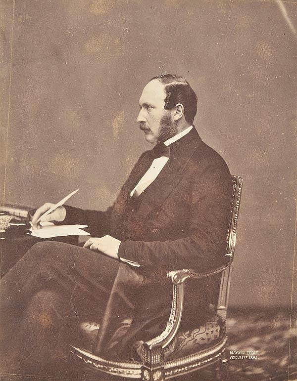 Albert (Prince Consort, 1819-1861). Three-quarter