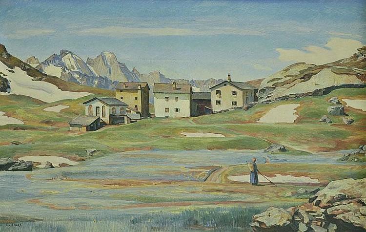 Salis-Soglio (Carl Albert von, 1886-1941). Swiss