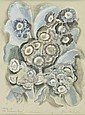 Farleigh (John, 1900-1965). Auriculas, Study for, John Farleigh, Click for value