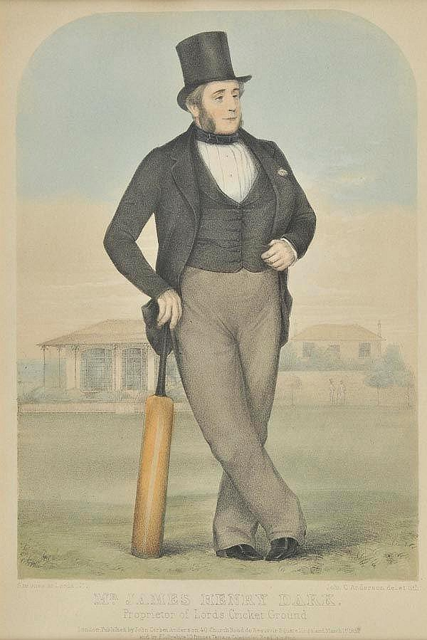 * Cricket. Anderson (John C.), The Umpire ,