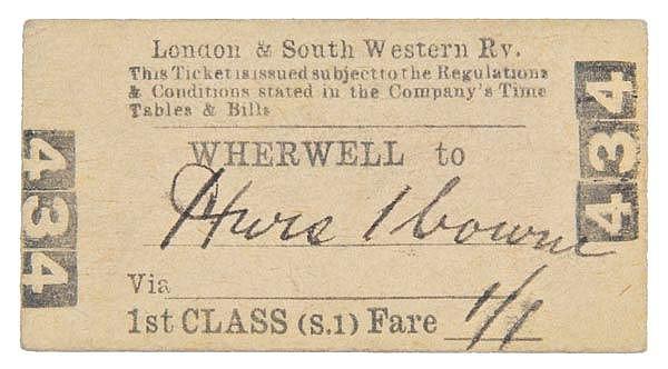 London & South Western Railway - Around Andover.