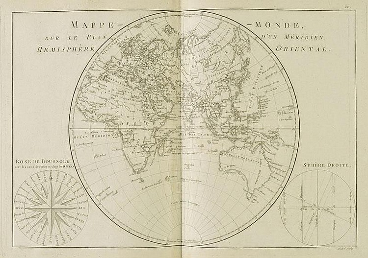 Bonne (Rigobert, and Desmarest, Nicolas). Atlas