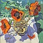 Lloyd (Elizabeth Jane, 1928-1995). Poppies in a, Elizabeth Jane Lloyd, Click for value