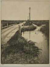 * Taylor (Charles William 1878-1960). Beyond Chadwell St Mary (Essex),