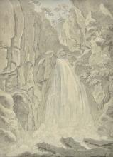 * Sunderland (Thomas, 1744-1828). Cauldron Linn, River Devon