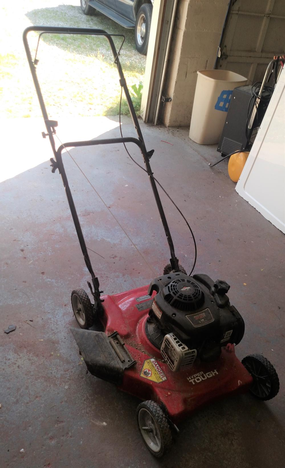 hyper tough trim mower