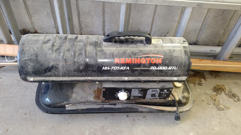 remington 70,000 btu heater