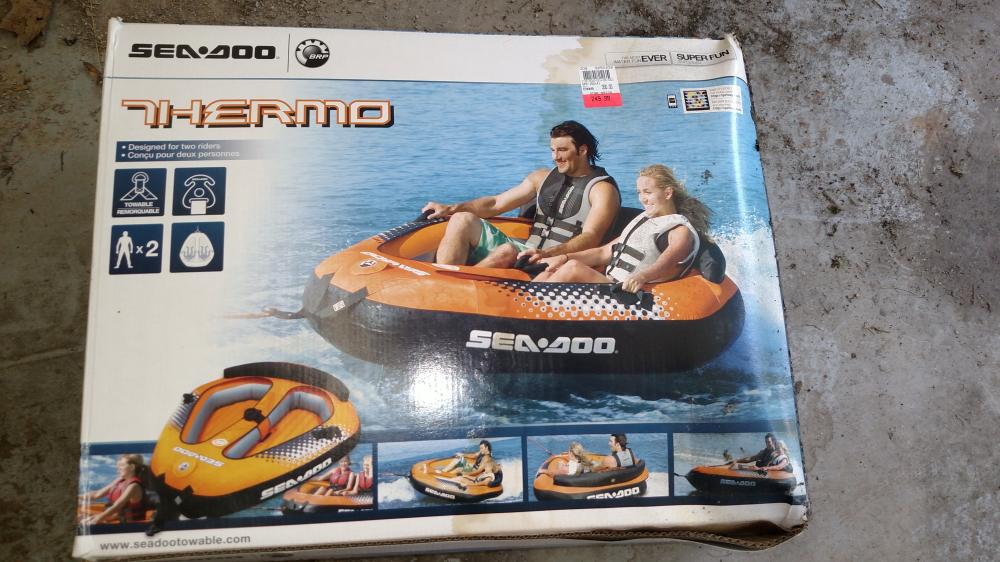 thermo 2 person raft for tubing