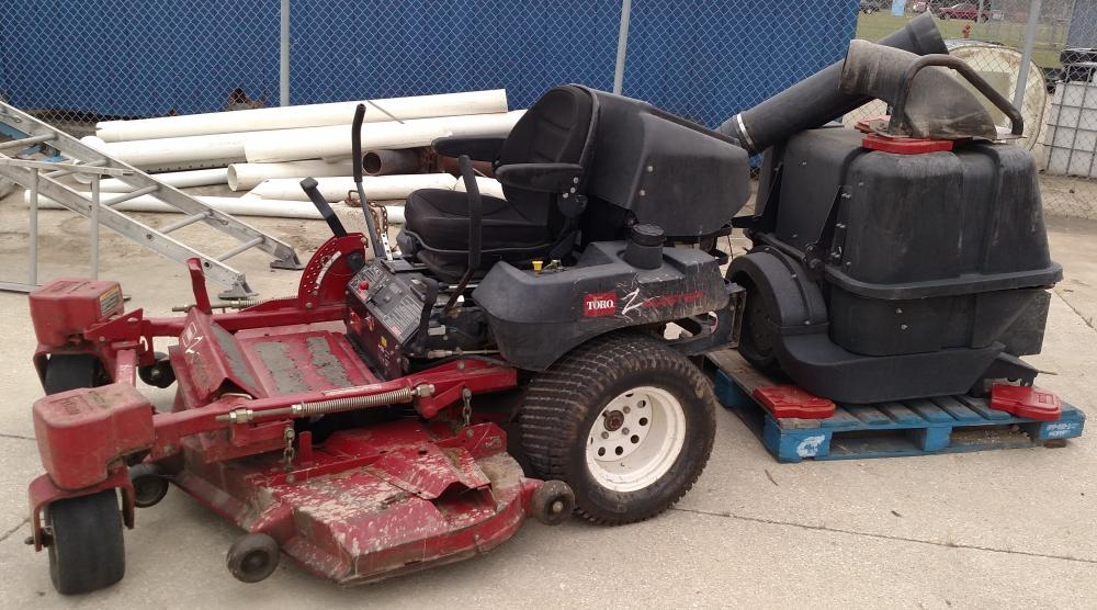"Toro Z Master with bagger and weights-287L- 1091 hours- 60"" cut"