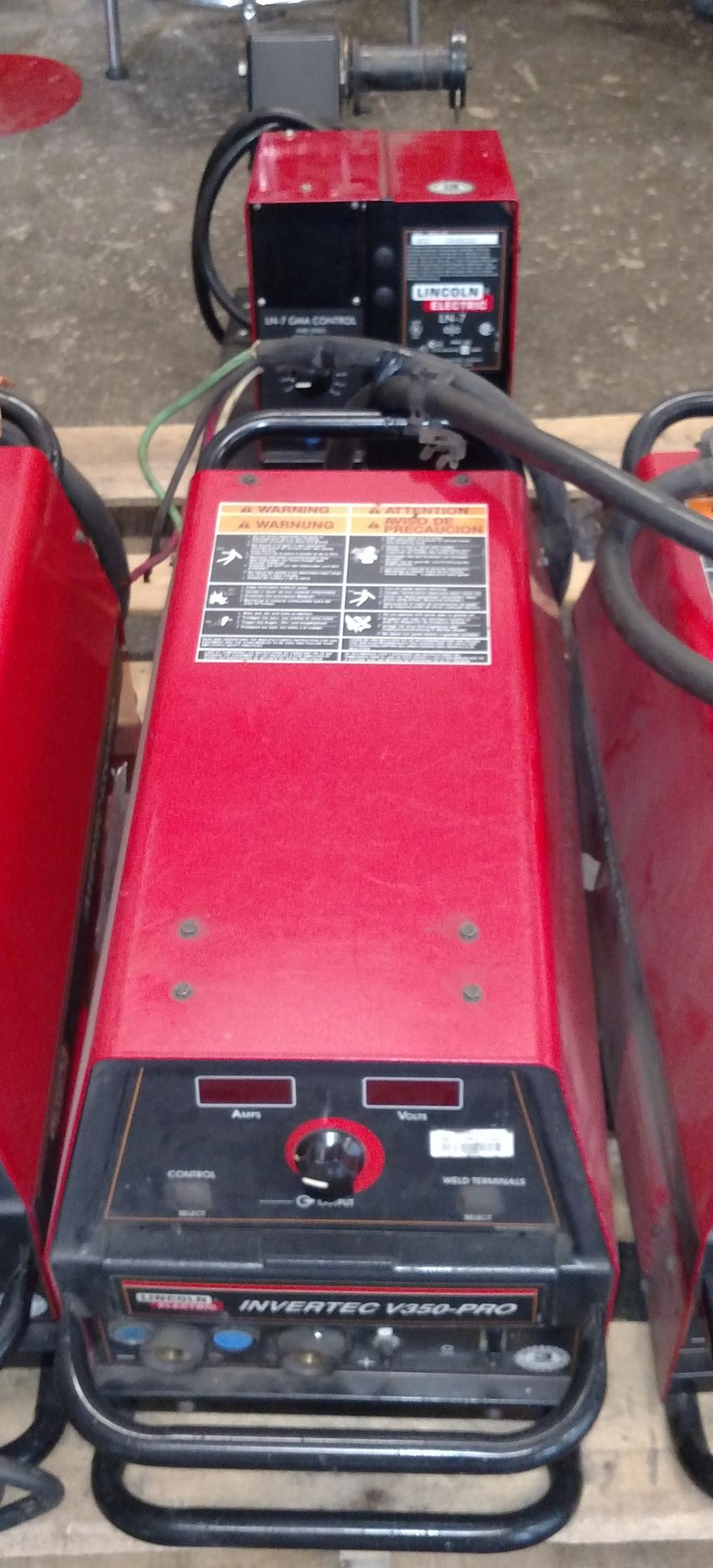 lincoln electric invertec V 350- pro welder