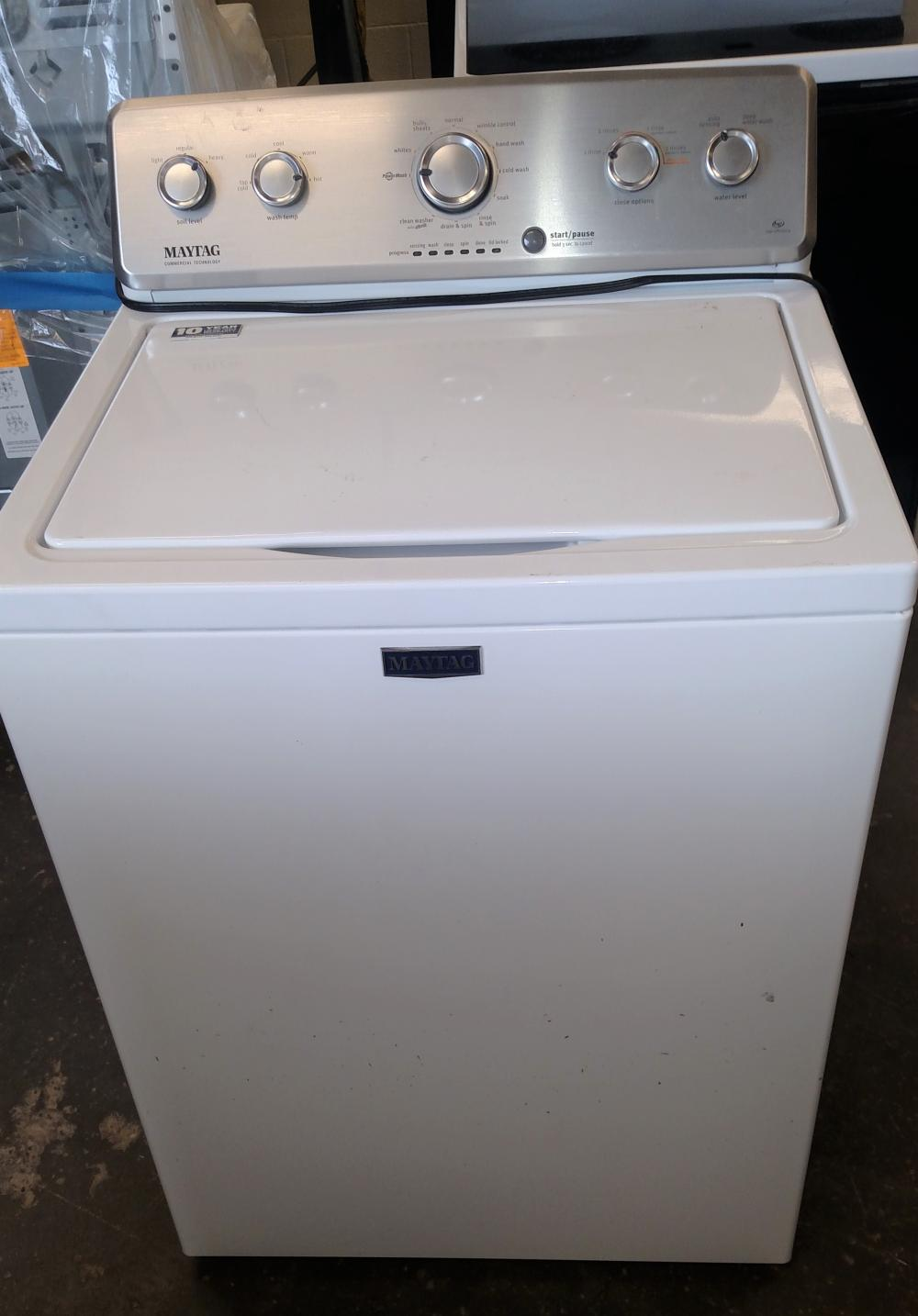 maytag commercial technology auto washer
