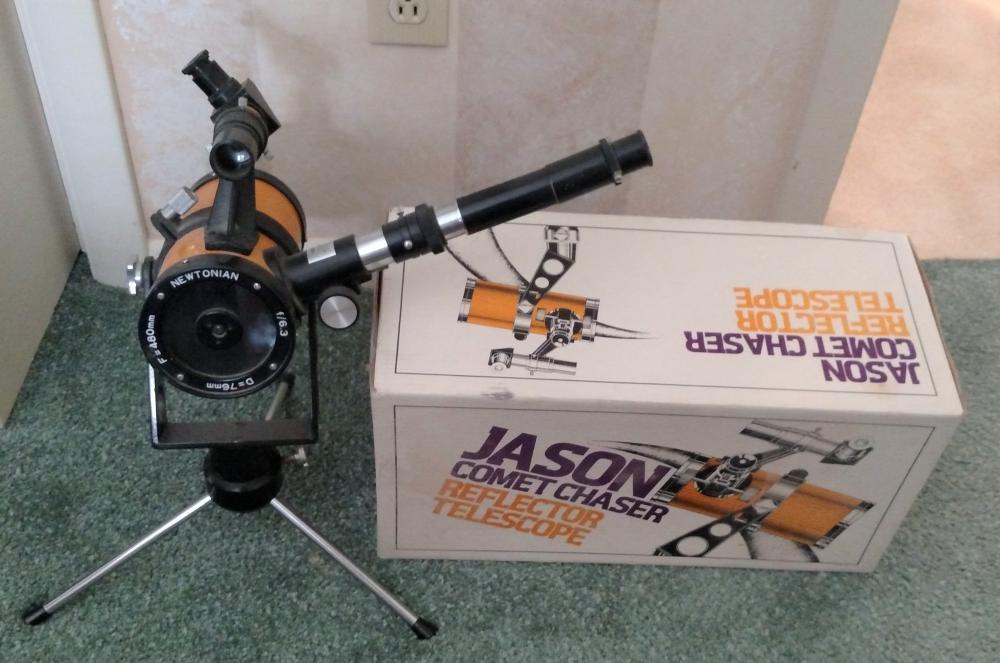 Jason Comet Chaser reflector telescope