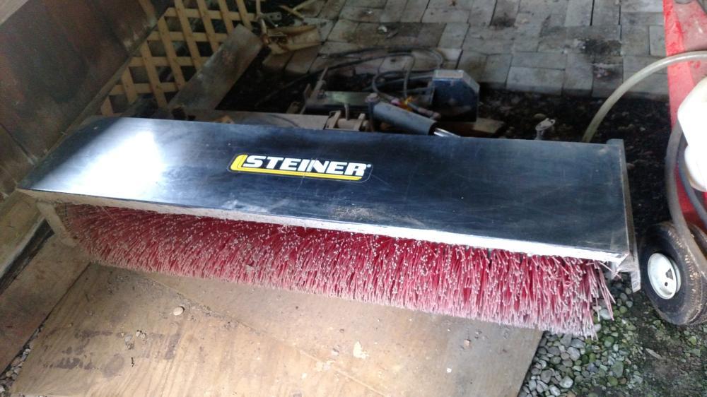 Steiner rotary sweeper
