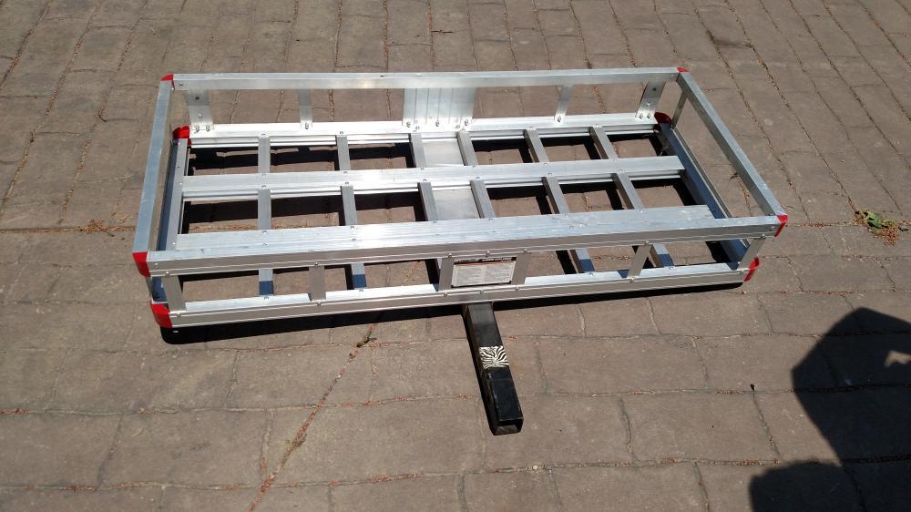 Tow Tek aluminum cargo carrier
