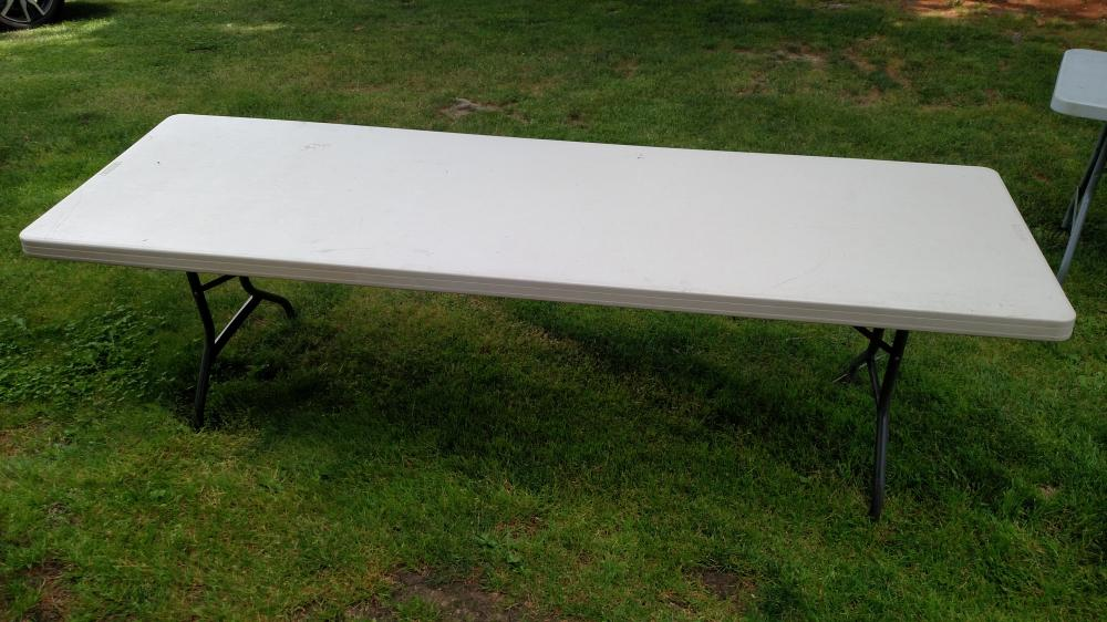 Lifetime 8 ft. table