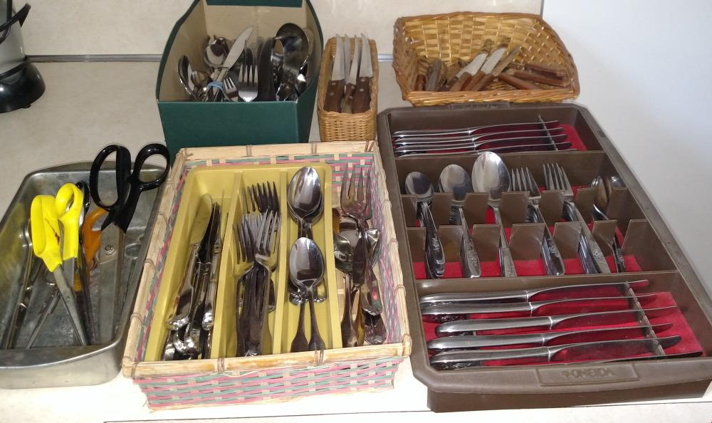 flatware package- stainless