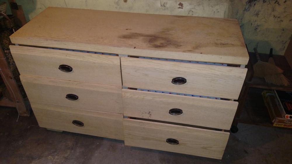 """6 drawer dresser-- 51"""" wide, 32"""" tall, 18"""" deep"""