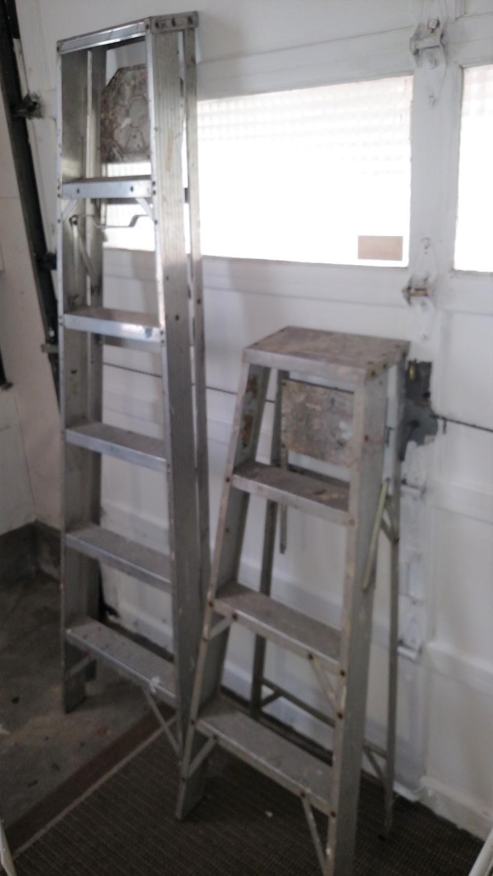 6' and 4' alum ladder
