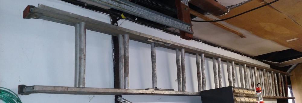 26' alum ext ladder