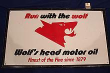 Wolf's Head Motor Oil