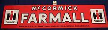 McCormick Farmall Sign