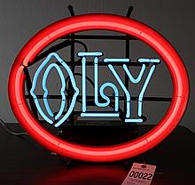 OLY Beer Light up Neon Sign