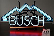 Busch Neon Bar Sign