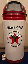 Texaco Garbage Can