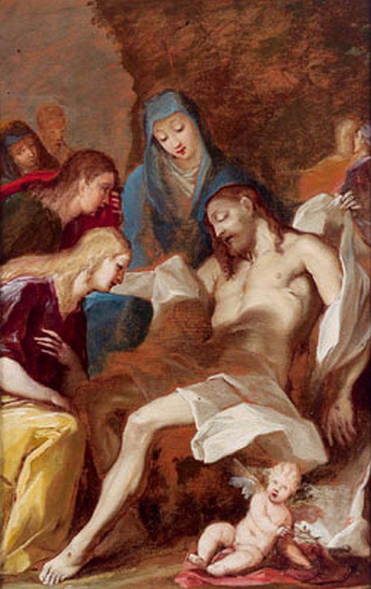 Old Master Painting: Pierre Louis Cretey (Lyon