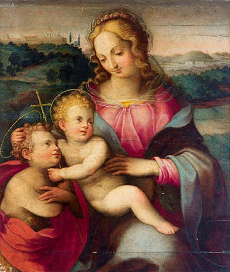 Old Master Painting: Giovanni Brina