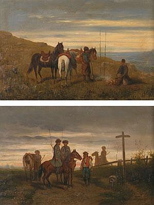 Künstler 2. Hälfte 19. Jahrhundert,