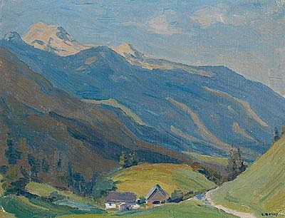 Carl Rotky (Graz 1891-1977 Grottenhof, Studium an