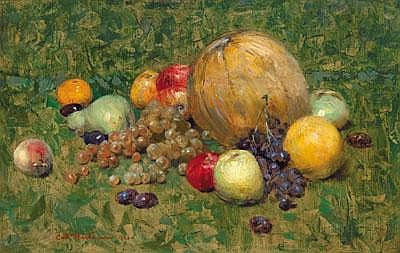 Karl Hartmann (born Heilbronn 1861) Still life of