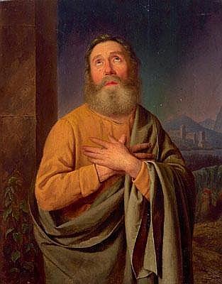 Franz Bernhardt (Vienna 1800-1860) The Apostle