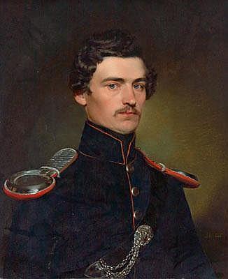 Franz Eybl (Vienna 1806-1880) Portrait of a Young