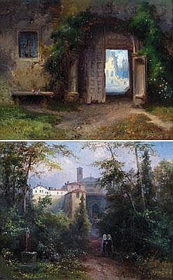 Bernhard Fiedler (Berlin 1816-1904 Triest) In