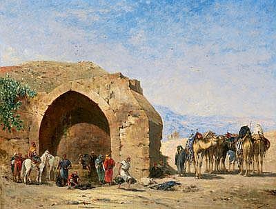 Narcisse Berchere (Etampes 1819-1891 Asnieres)